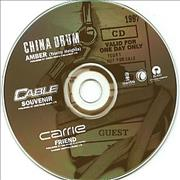 Click here for more info about 'China Drum - Amber'