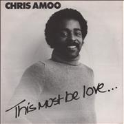 Click here for more info about 'Chris Amoo - This Must Be Love + Sleeve'