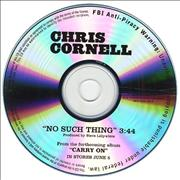Click here for more info about 'Chris Cornell - No Such Thing'