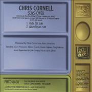 Click here for more info about 'Chris Cornell - Sunshower'