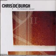 Click here for more info about 'Chris De Burgh - A Woman's Heart'