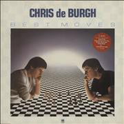 Click here for more info about 'Chris De Burgh - Best Moves - Stickered sleeve'