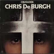 Click here for more info about 'Chris De Burgh - Crusader - Gold Promo Stamped'