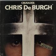 Click here for more info about 'Chris De Burgh - Crusader - Gold promo stickered'