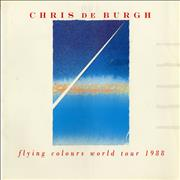 Click here for more info about 'Chris De Burgh - Flying Colours World Tour 1988 + Ticket Stubs'