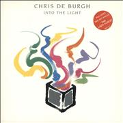 Click here for more info about 'Chris De Burgh - Into The Light + merch insert'