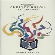 Click here for more info about 'Chris De Burgh - Into The Light - Europe '86 Tour + Ticket Stubs'