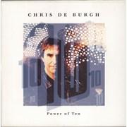 Chris De Burgh Power Of Ten UK vinyl LP