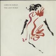 "Chris De Burgh The Lady In Red UK 7"" vinyl"