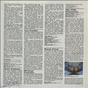 Click here for more info about 'Chris Farlowe - Autographed Page of the NME Encyclopedia of Rock'