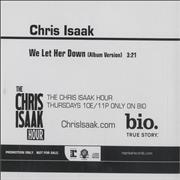 Click here for more info about 'Chris Isaak - We Let Her Down'