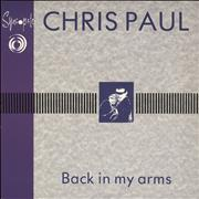 Click here for more info about 'Chris Paul - Back In My Arms'