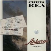 Click here for more info about 'Chris Rea - Auberge Tour 1991 + 2 Stubs'