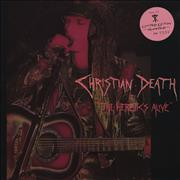 Click here for more info about 'Christian Death - The Heretics Alive'