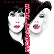 Christina Aguilera Burlesque UK CD album