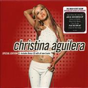 Christina Aguilera Christina Aguilera Special Edition UK 2-CD album set