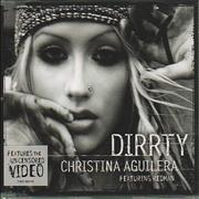 Christina Aguilera Dirrty UK CD single