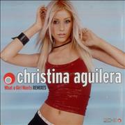 Christina Aguilera What A Girl Wants Remixes USA CD single