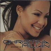 Click here for more info about 'Christina Milian - Christina Milian Advance CD'