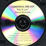 Click here for more info about 'Christina Milian - Dip It Low - Dance Remixes'