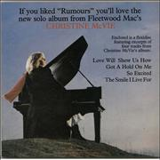 Click here for more info about 'Christine McVie - Excerpts From The New Solo Album - Flexi'
