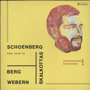 Click here for more info about 'Piano Works By Berg, Schoenberg, Webern, Skalkottas'