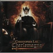 Click here for more info about 'Christopher Lee - Charlemagne: By The Sword & The Cross - RSD - Gold Vinyl'