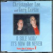 Click here for more info about 'Christopher Lee - O Sole Mio / It's Now Or Never'