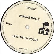 Click here for more info about 'Chrome Molly - Take It Or Leave It'