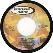 "Chuck Jackson Any Day Now USA 7"" vinyl"