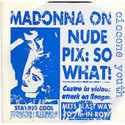 "Ciccone Youth Burnin' Up USA 7"" vinyl"