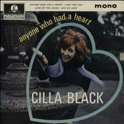 Click here for more info about 'Cilla Black - Anyone Who Had A Heart'
