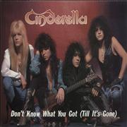Click here for more info about 'Cinderella - Don't Know What You Got (Till It's Gone)'