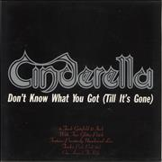 Click here for more info about 'Cinderella - Don't Know What You Got'