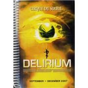 Click here for more info about 'Cirque Du Soleil - Delirium - Sept-Dec 2007 & Jan-Mar 2008'