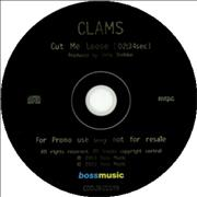 Click here for more info about 'Clams - Cut Me Loose'