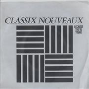 Click here for more info about 'Classix Nouveaux - Because You're Young'