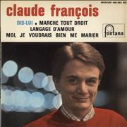 Click here for more info about 'Claude François - Dis-Lui EP - EX'