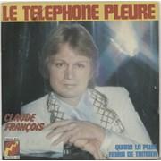 Click here for more info about 'Claude François - Le Téléphone Pleure - WOS'