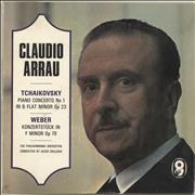 Click here for more info about 'Claudio Arrau - Tchaikovsky: Piano Concerto No. 1 / Weber: Konzertst'