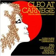 Cleo Laine & John Dankworth Cleo At Carnegie UK vinyl LP