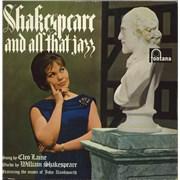 Cleo Laine & John Dankworth Shakespeare And All That Jazz UK vinyl LP