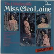 Cleo Laine & John Dankworth The Unbelievable Miss Cleo Laine UK vinyl LP Promo