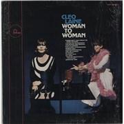 Cleo Laine & John Dankworth Woman To Woman USA vinyl LP Promo