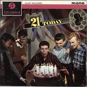 Click here for more info about 'Cliff Richard - 21 Today - 1st - VG'