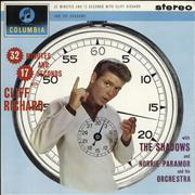 Cliff Richard 32 Minutes And 17 Seconds With Cliff - 1st UK vinyl LP