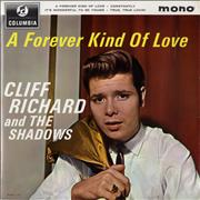 "Cliff Richard A Forever Kind Of Love EP UK 7"" vinyl"