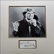 Click here for more info about 'Cliff Richard - Best Wishes! - Photo & Autograph'