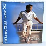 Cliff Richard Calendar 2003 UK calendar
