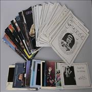 Click here for more info about 'Collection of Grapevine Fanzines & Xmas Cards'